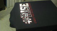 Sidney High School student section RISE Red Raiders t-shirt - design - screen print - Kearney,NE - Shirt Shack www.shirtshackkearney.com