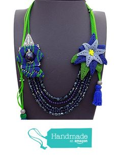 Amethys macrame gorgeous necklace NC396 from Nazo Design https://www.amazon.com/dp/B01H1WQXVO/ref=hnd_sw_r_pi_dp_jUy6xbGCKR2MK #handmadeatamazon