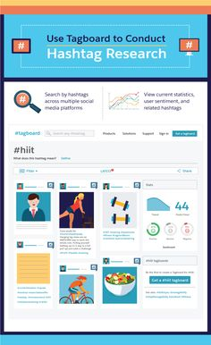 How to choose and use Hashtags to Advantage Infographic #Infographics