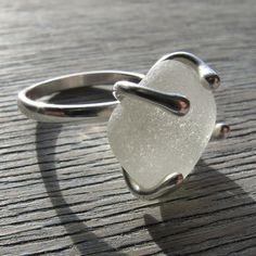 Bespoke Sea Glass Ring