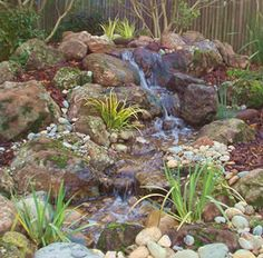 Gallery of Ponz R Us Water Features; pondless waterfalls