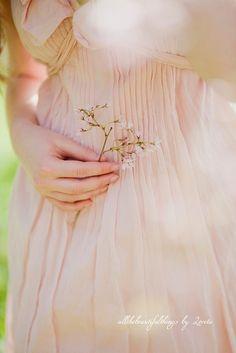 soft, feminine pink