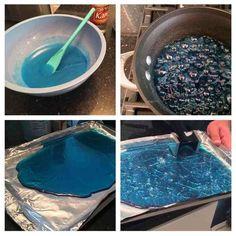 Blue Raspberry Rock Candy