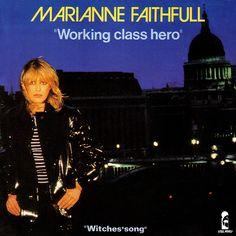 """Marianne Faithfull Working Class Hero (French 7"""" 1980)"""