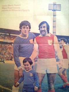 Miguel Angel Converti y Carlos Alberto Pandolfi. Clásico Bogotano año 76 #MIllonarios vs Santafe