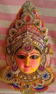 Goddess Devi Durga/ Lakshmi/ Gowri Faces, Navarathri, Dasara - New ...