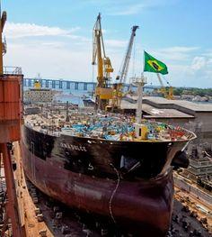 CARLOS  -  Professor  de  Geografia: Transpetro alcança marca de 10 navios lançados ao ...