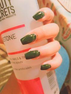 #nails #green #militar