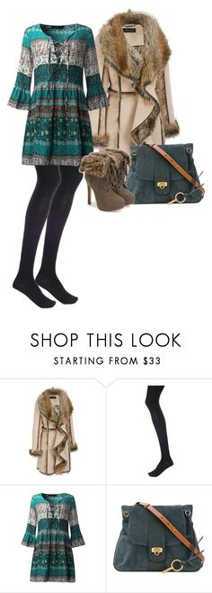 """Untitled #402"" by amea412 ❤ liked on Polyvore featuring Wolford, JustFab and plus size clothing"