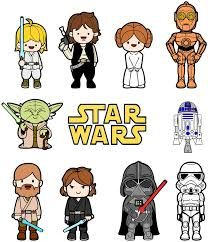 Resultado de imagem para star wars caricatura