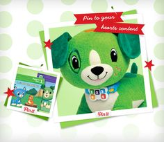 It's the last week to enter to win $500 worth of LeapFrog products when you create a wish list pinboard on Pinterest and enter via Facebook here: social.leapfrog.c... We'll randomly pick 2 more winners so get pinning!