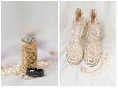 The Cannons Photography Blog, How We Photograph Wedding Day Details, Gervasi Vinyard Wedding, Canton Ohio Wedding, Wedding Shoes, Wedding rings