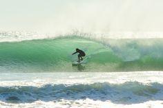 surfing at El Palmar beach ... Costa de la Luz, Cádiz, Spain