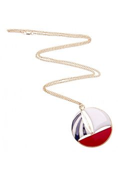 Boat Necklace in RED - colette by colette hayman Boat, Pendant Necklace, Red, Stuff To Buy, Jewelry, Style, Swag, Dinghy, Jewlery