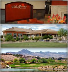 This gorgeous Las Vegas golf course layout features 6 holes on plateaus, 6 holes throughout canyons and 6 holes on level terrain. #LasVegas #Golf