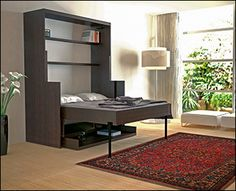 Murphy Bed/Desk Hardware - desk folds down with everything intact when you pull out the bed
