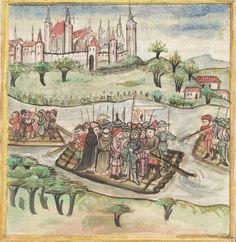 Meisterlin, Sigismundus / Mülich, Hektor: Augsburger Chronik -  SuStB Augsburg 2 Cod H 1 - 1457 -  Folio 245