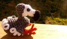 Amigurumis en español: Pájaro Dodo