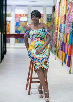 Modern Trendy Ankara Styles For Ladies African Dresses For Women, African Print Dresses, African Attire, African Wear, African Women, African Prints, African Outfits, African Clothes, African Inspired Fashion