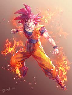 SSG Goku by GoddessMechanic2 on DeviantArt