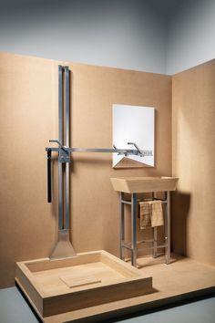 2 in 1. Sink and shower. Julia Kononenko