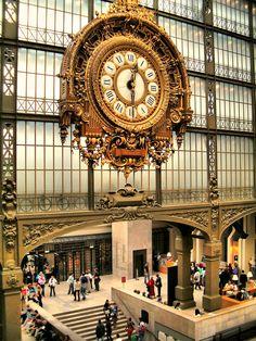 Musée D'Orsay, Paris, France. The fabulous clock at the Musée D'Orsay, in Paris. The Places Youll Go, Places To See, Places Ive Been, Paris Travel, France Travel, Travel Europe, Usa Travel, European Travel, Paris France
