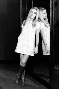 France Gall, singer, ye ye girl (b. 1947, France)   (the 60s bazaar)