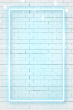 Download premium vector of Blue neon frame on brick wall background vector by Tang about blue, neon, background, brick wall, and neon frames 1228848