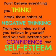 Confidence & Self-Esteem Profound Quotes, Inspirational Memes, Train Your Mind, Negative Thinking, Positive Inspiration, Self Esteem, Believe In You, Quote Of The Day, Thinking Of You