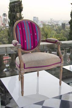 'L'Artesanía de Vivir' by Roche Bobois | Florian Armchair designed by Roche Bobois Studio | Mexico 2016