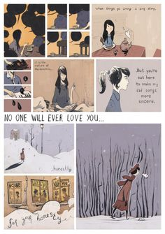 Magnetic Fields 'No one will ever love you' from the 'Illustrated 69 Love Songs' project