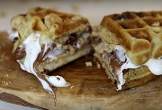 Waffle S'mores Exist And The Recipe Is Super Easy