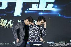 "#KOREA #韩国| NEWS |  TV Report | #ActorLeeMinHo #Korean #Actor #LeeMinHo | #MOVIE #BountyHHunters |  Press Conference | #Beijing |#CHINA at Resianance #Hotel on 13 April 2016 Wed |   ""국경 초월 브로맨스"" 이민호·종한량, 韓中 찰떡궁합 :: 네이버 TV연예"
