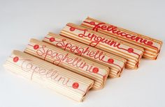 Creative food packaging design: Pasta packaging