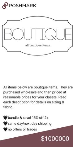 boutique items below All boutique items below! For Love and Lemons Tops Blouses