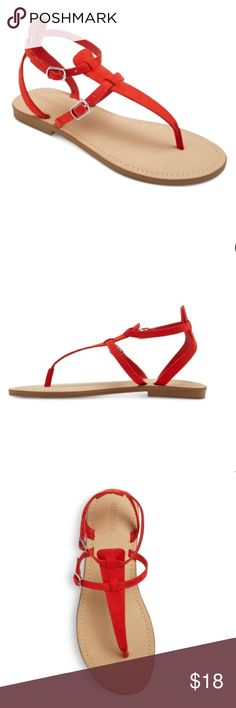 ✨Merona Ankle Strap Sandals✨ NWOT Merona Sandals!! Rock a simple style in the Women's Janelle Quarter Strap Sandals - Merona™. These women's sandals have a slim thong and two adjustable buckles for a fit that stays put. SIZE: 7 Merona Shoes Sandals