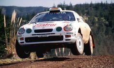 A.SCHWARZ - K.WICHA  TOYOTA CELICA GT-FOUR  New Zealand 1995