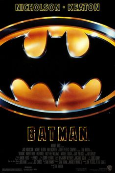 Watch the Batman movie trailer. Directed by Tim Burton and starring Michael Keaton, Jack Nicholson, Kim Basinger and Robert Wuhl. The Dark Knight of Gotham City begins his war on crime with his first major enemy being the clownishly homicidal Joker. Batman Full Movie, Batman Film, Batman 1, Batman Suit, Batman Poster, Batman Logo, Batman Robin, Superman, Gotham City
