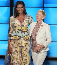 The First Lady stepped out in Gucci for a television appearance.