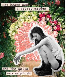 """Secret garden"" by maartinavg ❤ liked on Polyvore"