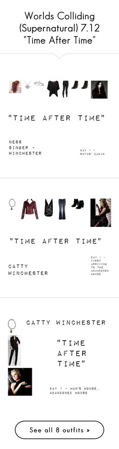 """""""Worlds Colliding (Supernatural) 7.12 """"Time After Time"""""""" by mysticfalls1997 ❤ liked on Polyvore featuring Allurez, Boohoo, Under Armour, Chloé, maurices, Chinese Laundry, Tom Ford, Roberto Coin, Rick Owens and Forever 21"""