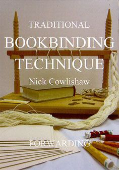 Nick Cowlishaw has over 50 years experience in the craft of bookbinding. Here you can see his new range of DVD bookbinding tutorials. Bookbinding Tools, Bookbinding Tutorial, Handmade Journals, Handmade Books, Handmade Rugs, Handmade Crafts, Journal Covers, Book Journal, Notebook Covers