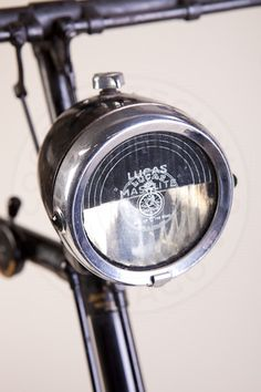 1935 Golden Sunbeam Bicycle - Cooper Technica, Inc. - Chicago - Restoration of Vintage Automobiles Trike Bicycle, Bicycle Safety, Bicycle Headlight, Fixed Gear Bicycle, Bicicletas Raleigh, Velo Retro, Bikes Direct, Bsa Motorcycle, Antique Bicycles