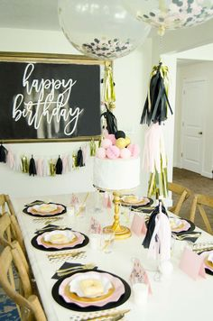 FREE Happy Birthday Backdrop By Lindi Haws Of Colorful Party25th PartiesBarbie