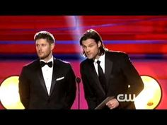 Jensen Ackles and Jared Padalecki presenting at the 2014 Critics' Choice Movie Awards - YouTube