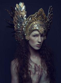 Photographer: Daniel Jung Headdress: Miss G Designs Model/Hair/Makeup: Sabrina Rucker
