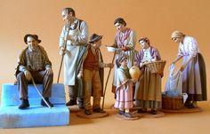 Foro de Belenismo - Índice de Artesanos Figuristas Extranjeros -> De Angelis Raffaele (Foggia, Italia)