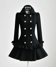 Ok... I know I don't need yet another coat... but I kind of need this one.