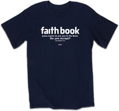 Kerusso Christian T-Shirt - Faith Book