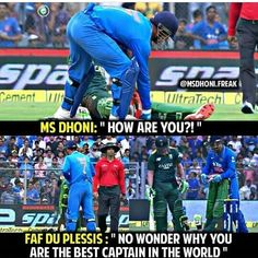 Me Dhoni, Ziva Dhoni, One Day Cricket, Cricket Sport, Funny Text Memes, Cute Funny Quotes, Cricket Wicket, Dhoni Quotes, Cricket Quotes